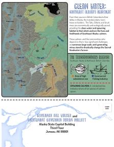 Flyer with tear-able postcard on bottom